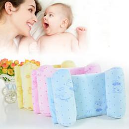 $enCountryForm.capitalKeyWord Australia - Infant Baby Soft Pillow Prevent Flat Head Anti Roll Cushion Sleeping Support Baby Velvet Pillows Cute Animal Anti-heading Pillow