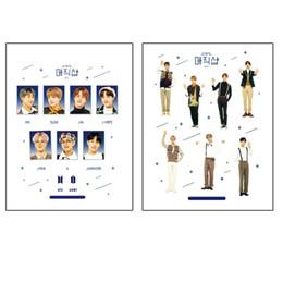 $enCountryForm.capitalKeyWord UK - BTS 6th Anniversary Hand Painted Kawaii Adhesive Photo Stickers Jungkook Jimin Festa Laptop Scrapbook Decorative DIY Stickers Army Gift