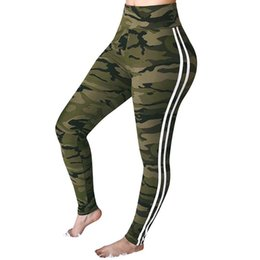 $enCountryForm.capitalKeyWord NZ - New Fashion Camouflage Printing Elasticity Leggings Camouflage Fitness Pants Slim Quick-drying Leggings Sporting Workout Pants
