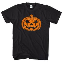 $enCountryForm.capitalKeyWord NZ - Pumpkin Black T-Shirt Men Women Kid Halloween Top Costume Funny Party Cool L109 Male Hip Hop funny Tee Shirts cheap wholesale