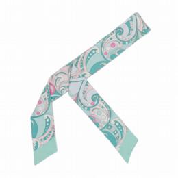 $enCountryForm.capitalKeyWord Australia - ELENI&ANNIE 34 Inch New Design Satin Skinny Scarf,Hair Wrap,Slim Scarf,Bag Band,Neck Tie, Bowtie, Handbag Skinny Scarf,Neckerchief
