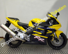 cbr 954 bodywork UK - Yellow Black Cowling For Honda CBR900RR Shell 2002 2003 954 CBR 900 RR 954RR 02 03 Bodywork Motorcycle Fairing Kit (Injection molding)