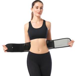 Tourmaline self heaTing magneTic Therapy waisT online shopping - High Quality PC Waist Lumbar Disc Therapy Belt Support Brace Self heating Magnetic Tourmaline Black Waist Protection Belt V10