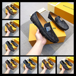Banquet Shoes Australia - Leather Shoes Men Buckle Dress Shoes Luxury Square Toe Loafers Business Formal Men Banquet And Wedding 38-45