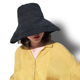 b29a813a2e6 Korean version of chic fisherman hat Japanese sun protection hat cover face  UV protection wild sunhat