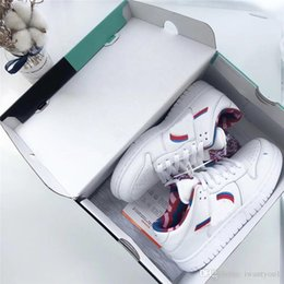 $enCountryForm.capitalKeyWord Australia - 2019 Hottest Parra x SB Dunk Low White Pink Furry Rose Gym Red Running Shoes Men Women Authentic Sneakers CN4504-100 With Original Box