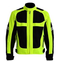 nylon mesh motorcycle jacket NZ - New Arrival Spring Breathable Motorcycle Jackets Reflective Oxford Motocross Clothing Motorbike Summer Mesh Riding Jacket