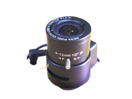 $enCountryForm.capitalKeyWord Australia - 3MP auto iris 4-12mm LENS C Mount 3.0 Mega Pixel HD Industrial lens Vari-Focal Manual Iris CCTV Lens For CCTV Camera