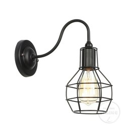 $enCountryForm.capitalKeyWord UK - Edison Light Bulb Wall Lamp Knob Switch Loft American Country Retro Industry Vintage Iron Small Wall Lamps Vintage Lights