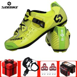 $enCountryForm.capitalKeyWord Australia - SIDEBIKE Road Cycling Shoes add pedal set men Bicycle Racing Sports Athletic sapatilha ciclismo Road Bike Auto-lock sneakers