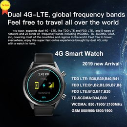 $enCountryForm.capitalKeyWord Australia - new smart android 7.1.1 watch 8MP Camera MTK6739 3G+32G 1.39'' AMoled 620mah battery sim Card GPS 4G WIFI business Smartwatches