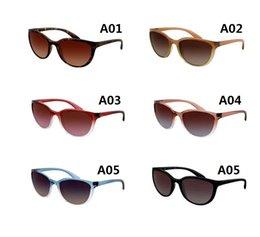 Mens Wholesale Sun Glasses Australia - Sunglasses Designer Brand Mens Womens Sun Glasses Eyewear Gold Metal Green Glass Lenses Brown Case 4167