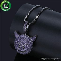 $enCountryForm.capitalKeyWord Australia - Iced Out Pendant Designer Necklace Hip Hop Jewelry with Gold Chains Men Women Micro Paved CZ Stone Animal Emoji Pendants Luxury Accessories