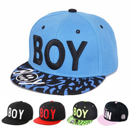 baseball cap styles Australia - Boy Letter Baby Boy Girls Hats Cool Style Baseball Cap Children Boy For Spring Autumn Hip-pop Sun Hat For Travel School