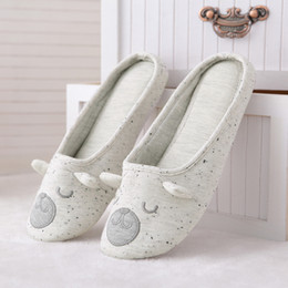 $enCountryForm.capitalKeyWord Australia - Cotton Cute Animal Home Women Slippers Cartoon Winter Indoor Shoes For Girls Ladies Female Warm House Bedroom Floor Flats