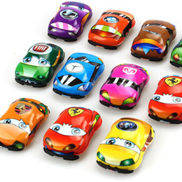 wholesale pull back toys Australia - Children's toy car, Huili car, yizhi racing car, general mobilization, Q version, mini car model wholesale