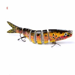 Fish pc games online shopping - 8 Sections Fishing Lures g cm quot Plastic Bait Fishing Lures of Equipment Hook Fishing pc New