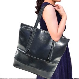 $enCountryForm.capitalKeyWord Australia - Lucky2019 Genuine Capacity Will Leather Woman Handbag Cowhide Single Shoulder Bucket Trend Package Bale Exceed Practical Can Dress