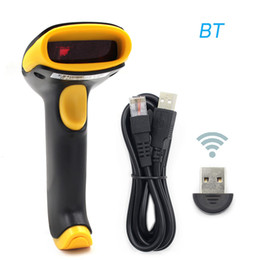 $enCountryForm.capitalKeyWord NZ - 2019 New 2 in 1 USB Wired & Wireless BT 1D Barcode Scanner Reader W 750mAh Battery Wireless bluetooth barcode scanner hot sale