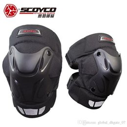 scoyco racing gear Australia - Scoyco Motorcycle Protective Racing Shell Knee Pads Gear Off Road Motocross Safety Protector Motocicleta Knee Protective