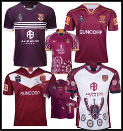 Wholesale maroon shorts resale online - 2019 National Rugby League Queensland QLD Maroons Malou Rugby jersey QLD MAROONS STATE OF ORIGIN Rugby jersey