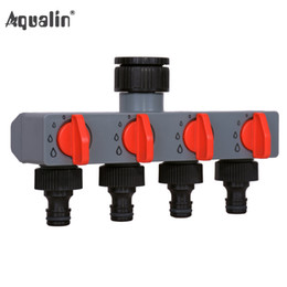 $enCountryForm.capitalKeyWord Australia - connector 4 Way Water Distributor Tap Adapter ABS Plastic Connector Splitters for Hose Tube Water Faucet#27208