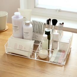 $enCountryForm.capitalKeyWord Australia - 9 Lipstick Holder Display Stand Clear Acrylic Cosmetic Case Sundry Storage Makeup Organizer Organizador 63930 J190713