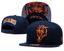 ChiCago baseball Caps snapbaCk online shopping - Top Quality Chicago Snapback Hats Gorras Embroidered Logo Brands Hip Hop Cheap Sports Bears Baseball Adjustable Caps Bones
