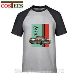 662a221b0df 2019 Japan style Mazda Miata Mx5 T-shirt Jinba Ittai V2 Mount Fuji Pattern T  shirt homme graphic printed Tshirt hombre camisetas