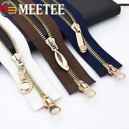 $enCountryForm.capitalKeyWord NZ - Metal Zippers Double Sliders Eco-friendly Open-end Long Zipper For Sewing Down Jacket Coat Clothing Zipper Tailor Tools KY2175