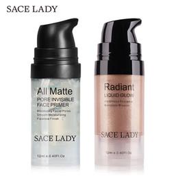 $enCountryForm.capitalKeyWord NZ - SACE LADY Face Makeup Set Highlighter Cream Matte Foundation Primer Illuminator Liquid Glow Make Up Kit Shimmer Base Cosmetic
