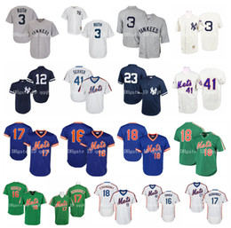 Vintage baseball jersey xl online shopping - Vintage NY Yankees Babe Ruth Jersey Wade Boggs Don Mattingly Tom Seaver Mets Jersey Dwight Gooden Keith Hernandez Darryl Strawberry