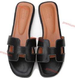 Hermes Hococal 2020 Оптовая продажа тапочки вырезать летние пляжные сандалии дизайнерский бренд мода женщины слайды открытый тапочки крытый скольжения на шлепанцы на Распродаже
