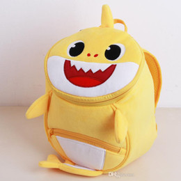 Girl Games Babies Australia - Baby Shark Backpack Plush Cute Cartoon Animal Bag Girl Bag for Chhildren Sweetie Mini School Bag for Kids Kinderegarten