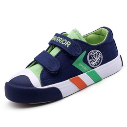 Wide Canvas Shoes Australia - 2019 Autumn New Children's Canvas Shoes Student Board Shoes Boys And Girls Korean Casual Shoes Tide Y190525