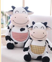 Toy Man Women NZ - 20170701 Cow Toy Doll Cute Cow Pillow Men And Women Birthday Gift Cloth Plush Girlfriend Present