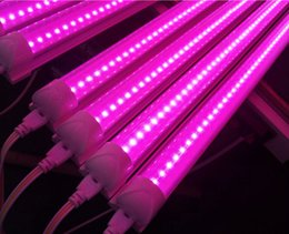 horticulture grow light NZ - free ship 10pcs\1 lot T5 LED Grow Light Full Spectrum LED Indoor Plant Growing Light Bulb For DIY Horticulture Indoor Gardening lamp