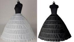 ba6c97cff3 Blanco Negro Barato Borde de encaje 6 Aro Enagua Falda para vestido de  novia Vestido de novia 110 cm Diámetro Ropa interior Accesorios de boda  Crinolina
