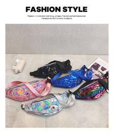 Packing belt straP online shopping - 5styles Laser Chest Bag Crossbody Waist Chest Pack Belt Strap Handbag Shoulder Bags Travel outdoor fashion Beach Sports Purses FFA2360