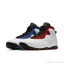 196843db0be358 Cheap Mens Jumpman 10 X Westbrook basketball shoes AJ10 Class of 2006 I am  Back OVO Black White NYC Chicago 10s sneakers with original box
