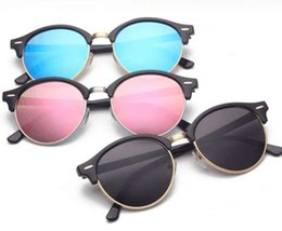 $enCountryForm.capitalKeyWord Australia - Fashion Club Round Sunglasses Vintage Rays Women Men Brand Designer Sun Glasses Bans Eyeglasses for Ladies 4246 with cases