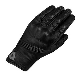 Gloves Leather Fingers Off Australia - 2019 New Full Finger REVIT Breathable Motorcycle Glove Black Genuine Leather Motocross Protection Guantes Moto GP Off Road Gloves Men&Women