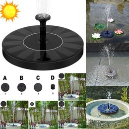 Pool Submersible Pump Australia - Solar Bird bath Fountain Pump, Outdoor Watering Submersible Pump, Free Standing Water Pumps with 1.4W Solar Panel For Garden Pool Pond Patio