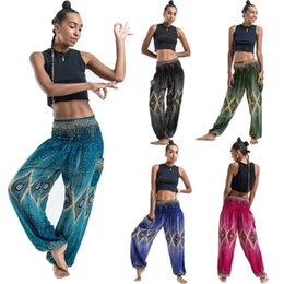 $enCountryForm.capitalKeyWord Australia - Women Casual Summer Loose Yoga Trousers Baggy Boho Aladdin Jumpsuit Harem Pants Thai Harem Trousers High Waist Yoga Pants