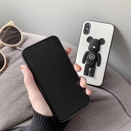 $enCountryForm.capitalKeyWord Australia - HOT best iphone case Cartoon 3d toy Lightning teddy bear phone case protective cell phone case iPhone x xr xsmax
