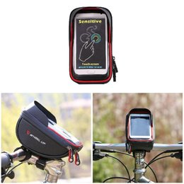 $enCountryForm.capitalKeyWord Australia - Bicycle Sun Visor Waterproof Bag TPU Touch Screen And 6.0 Inch Screen Mobile Phone Bag Handlebar Bags ZJ55