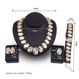$enCountryForm.capitalKeyWord Australia - Luxury Vintage Jewelry Set Crystal Choker Necklace Jewelry Necklace Bracelet Earrings Ring Jewelry Set