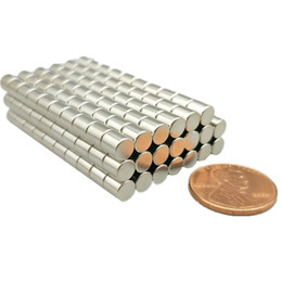 "$enCountryForm.capitalKeyWord Australia - 10k-20kpcs Ndfeb Disc Magnet Dia. 5x5 Mm Thick 0.2"" Strong Neodymium Permanent Magnets Stud Nicuni Coated"