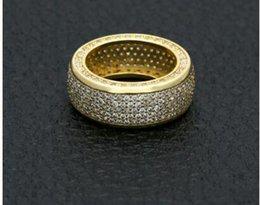 $enCountryForm.capitalKeyWord Australia - Copper Punk CZ Ring Hip Hop Mens Micro Paved Cubic Zircon Finger Ring #8 #9 #10 #11