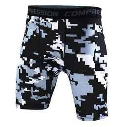 $enCountryForm.capitalKeyWord Australia - Camouflage Print Sports Fitness Shorts Tight Quick Drying Running Bicycle Swimming Mens Shorts